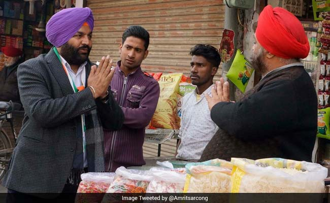 Congress Leader Gurjit Singh Aujla Wins Amritsar Lok Sabha By-Poll