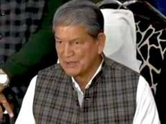 CBI Files Probe Report In Case Against Congress Leader Harish Rawat
