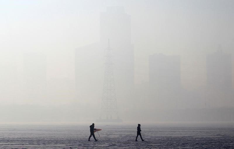 heavy smoke shenyang china