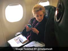Photo Of Hillary Clinton Reading About Mike Pence's Email Goes Viral