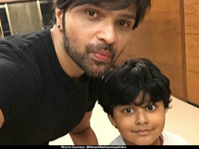 Himesh Reshammiya Roped In 5-Year-Old L'il Champ For A Song