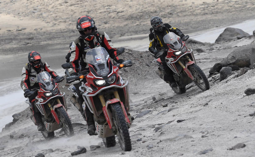 Honda Africa Twin Climbs Record Altitude