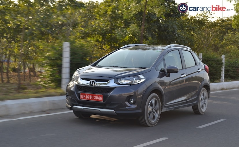 The Honda WR V Gets A Price Reduction Up To Rs 10064