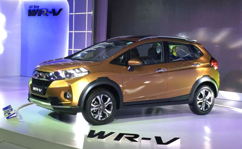 Honda Wr V Launched In India Prices Start At Rs 7 75