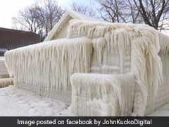 Video: Incredible 'Ice House' In US Looks Like It's Out Of The Movie Frozen
