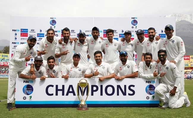 टीम इंडिया : बड़ी जीत का मना रहे जश्न पर सफलता से भटके नहीं हैं खिलाड़ी...