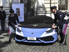 Italian Police Get New Lamborghini