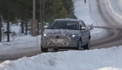 Jaguar E-Pace Caught On Camera During Cold Weather Testing: Video