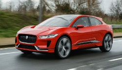 Jaguar Begins Testing I-Pace Electric SUV In London