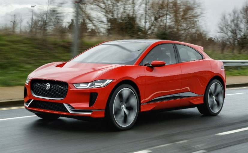 Jaguar's I-Pace electric SUV takes first test run in London
