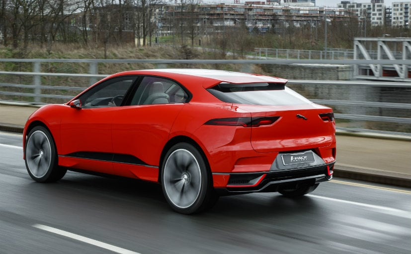 Jaguar I-PACE fully electric SUV hits the streets for first time