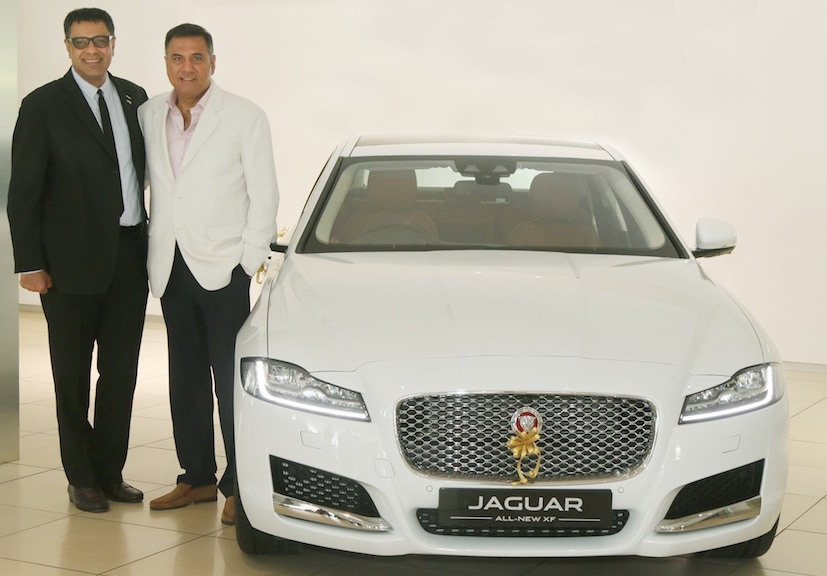 Actor Boman Irani Gifts Himself The New 2017 Jaguar XF