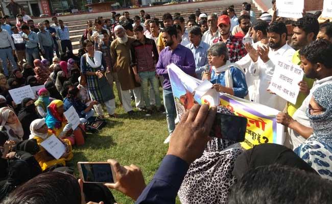jaipur beef rumours protest