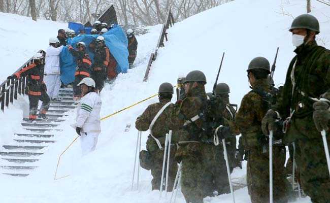 7 Students, A Teacher Killed In Japan Avalanche