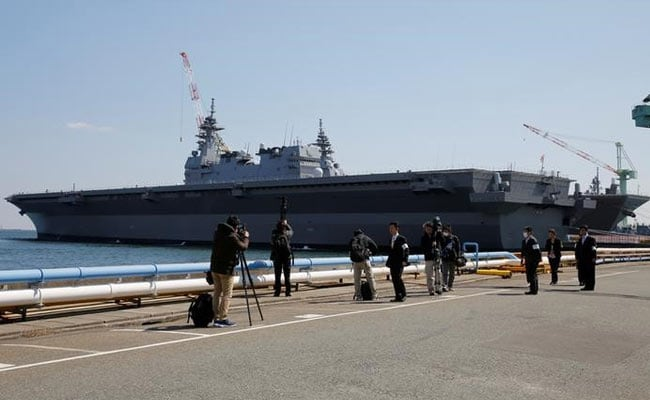 Japan On Offensive As Second Grand Helicopter Carrier Enters Into Service