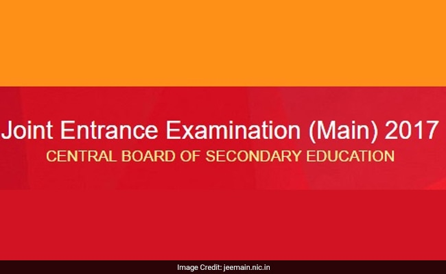 JEE Main 2017: Result And Inter-se Merit