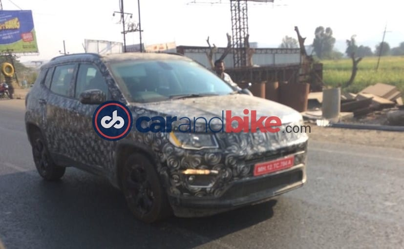 2017 Jeep Compass Spotted Testing In India Again; Launch Later This Year