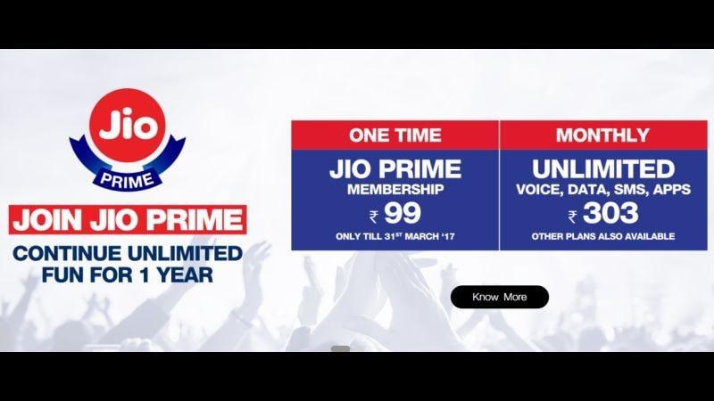 रिलायंस जियो 4जी (Reliance Jio 4G) के प्राइम ऑफर (Prime Offer) को ऐसे चुनें आसानी से...
