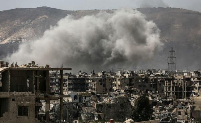 सीरिया में रूसी हवाई हमले में 21 बच्चों सहित 53 लोगों की मौत