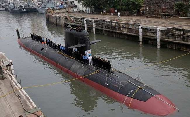 First Of 6 Scorpene-Class Submarines, Kalvari, Handed Over To Navy