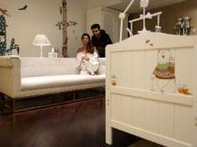 Karan Johar Shares Pic Of Twins' Nursery Designed By Gauri Khan
