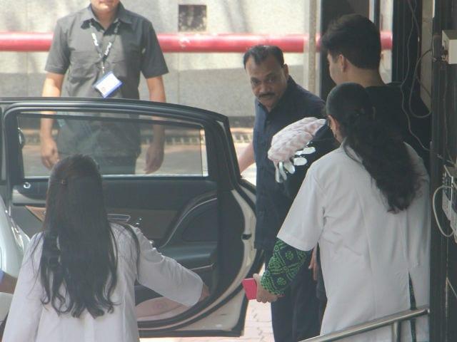 Karan Johar Takes His Twins Roohi and Yash Home. See Pics