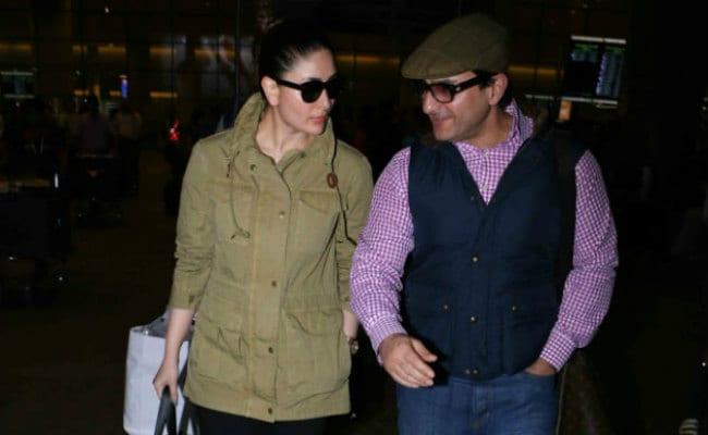 पति सैफ अली खान के साथ लंदन से वापस लौटीं करीना कपूर खान, देखें तस्वीरें