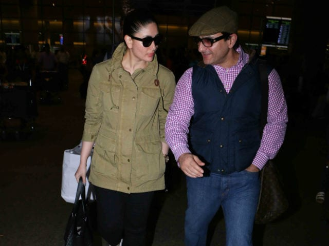 Kareena Kapoor Khan And Saif Ali Khan Are Back From London. See Pics