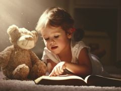 Teddy Bears and Dolls Can Help Kids Develop Reading Habits