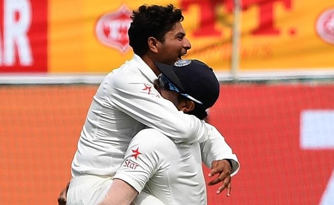 INDvsAUS 4th Test : पहले दिन कुलदीप यादव ने ऑस्ट्रेलियाई बल्लेबाजी की कमर तोड़ी, 300 रन पर समेटा, स्मिथ- 111 रन