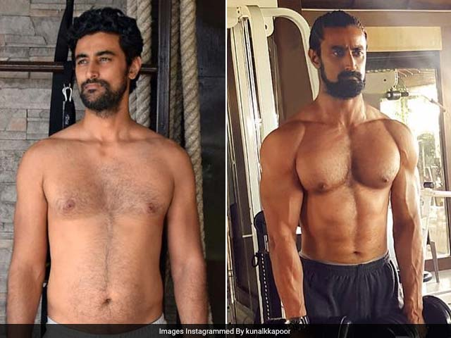 Viral: Kunal Kapoor's Physical Transformation Summed Up In One Pic