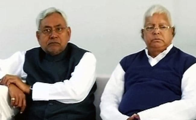 The Slow Burn Of Lalu And Sons, And Their Many Scandals, On Nitish Kumar