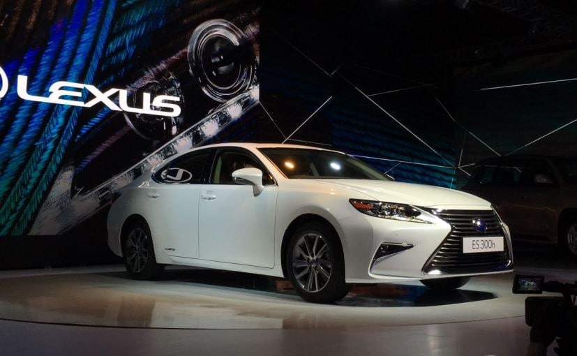 Lexus ES 300h launched in India at Rs. 55 lakh