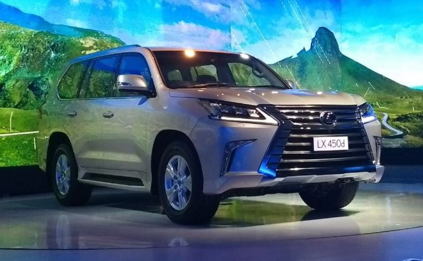 lexus lx 450d was imported to india last year