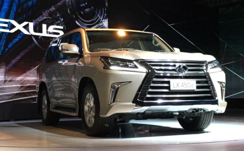 Lexus LX 450d Introduced In India; Bookings Open