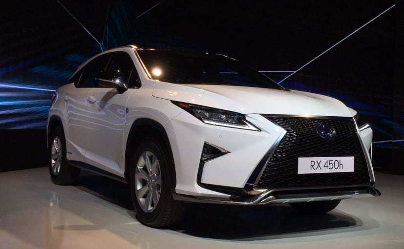 lexus rx 450h launched in india priced at rs crore ndtv carandbike. Black Bedroom Furniture Sets. Home Design Ideas