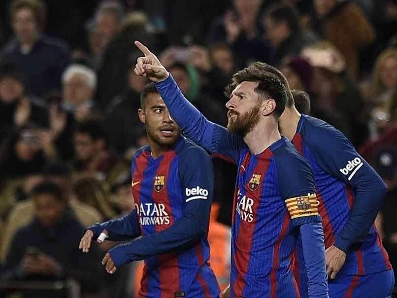 Lionel Messi Makes Barcelona Believe As Champions League Tie Looms