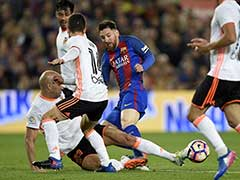 Lionel Messi Double Edges 6-goal Thriller Barcelona's Way