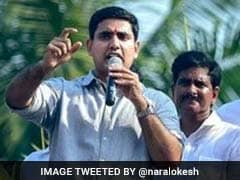 Andhra Chief Minister Chandrababu Naidu's Son Nara Lokesh , 13 Others Take Oath As Member of Legislative Assembly