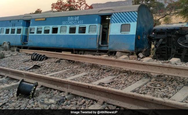 mahakoshal express derail up