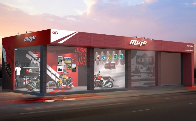 Mahindra Reveals Official Sketch Of Exclusive Mojo Dealership