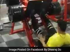 Viral Video: हेवी वेट उठाने से युवक का पैर टूटकर मुड़ा, 24 घंटे में  15 लाख बार देखा गया यह वीडियो