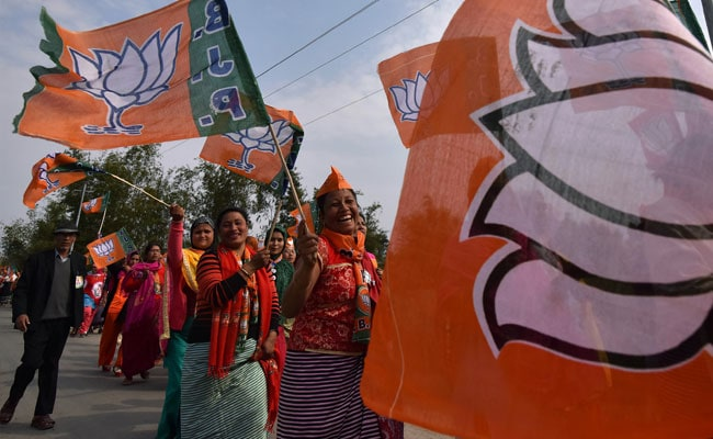 Trinamool Congress' Former Tripura Chief, 400 Party Workers Join BJP