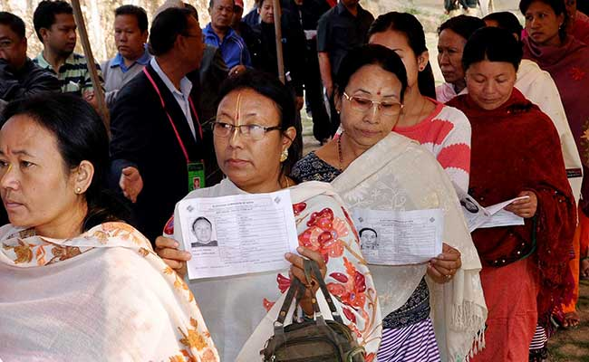 BJP Forms First Government in Manipur as Biren Singh Takes Oath