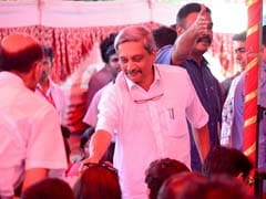 'This Happens When You Come To Goa To Holiday,' Manohar Parrikar Quips