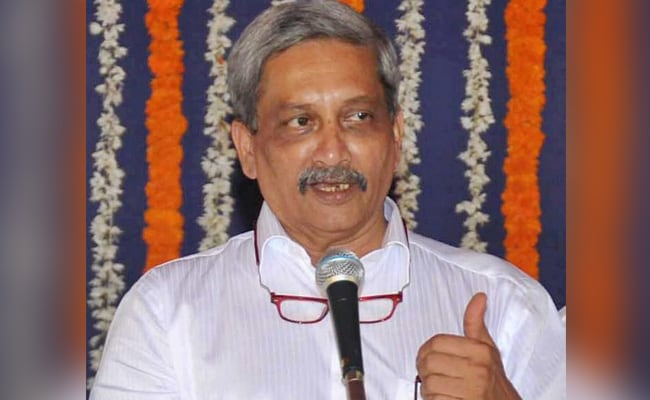 Manohar Parrikar To File Nomination From Panaji Seat Tomorrow