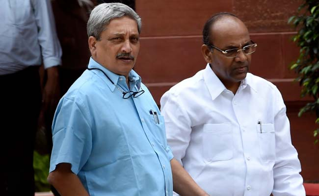 'Manohar Parrikar Welcome To Be Goa Chief Minister For 2 Days,' Says Congress
