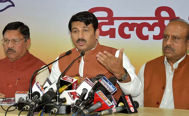 Those Found Absent In 3 Consecutive Meetings Will Be Removed: Delhi BJP Chief Manoj Tiwari