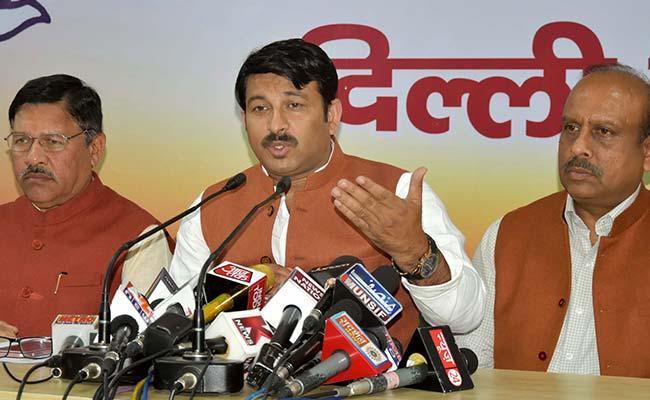 आम आदमी पार्टी की मांग मनोज तिवारी के खिलाफ महिला आयोग कार्यवाही करे