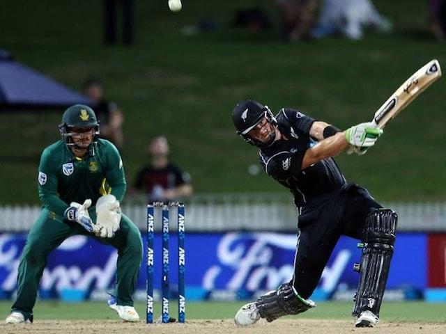 4th ODI: Martin Guptill Powers Kiwis To Seven-Wicket Win Over SA